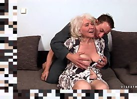 granny doggy style